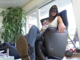 Porn online Shoe fetish – Madame Marissa – Slave Has To Clean My Shoes