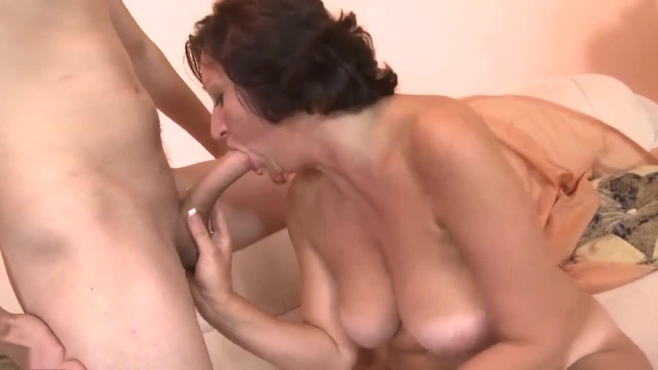 Hot Young Blonde Sucks Cock