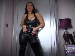Worshipjasmine – Catsuit And Boots JOI