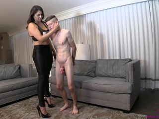 femdom - Brat Princess 2 – Jasmine Mendez – Slave Kisses Ass with a Nice Full Tummy