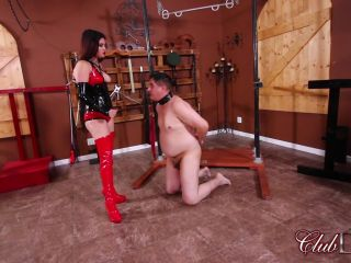 Degradation – ClubDom – Slapped by Miss Roper For Disobedience