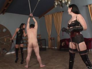 ClubDom – Please Cane Me –  Esmi Lee and January Seraph – Corporal Punishment, Whipping - caning - bdsm porn torture ball bdsm