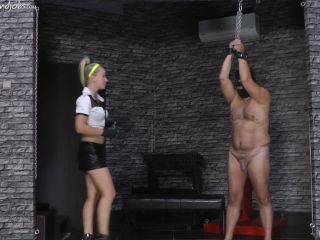 Cruel Mistress – Mistress Anette – Cruel Handjobs – Milking The Slave (720 HD) – Forced Orgasm