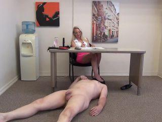 Lisa's Foot Humiliation Beatdown and Cock Milking