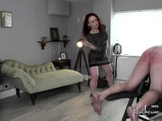Miss Katherine Kendal – No Count Caning part 2 – Femdom spanking