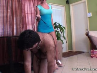 Goddess Brianna A day in the life taste those cock-tainted toes