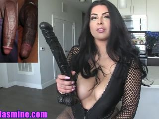 Goddess Jasmine Mendez – Big Black Cock – Coerced Bi, Female Domination, chubby big tits ass on pov