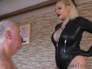 Femme Fatale Films – Mistress Fox – You Have It Coming – Part 1 – Spitting – Faceslapping, Smothering, gay feet fetish porn on femdom porn