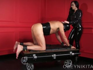Obey Nikita presents Mistress Nikita in Bitted and Fucked