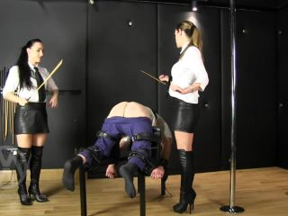 mistress whiplash  wl1376  judicial caning by prison mistresses  punishment