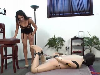 By The Balls - Mistress Tangent on Mistress