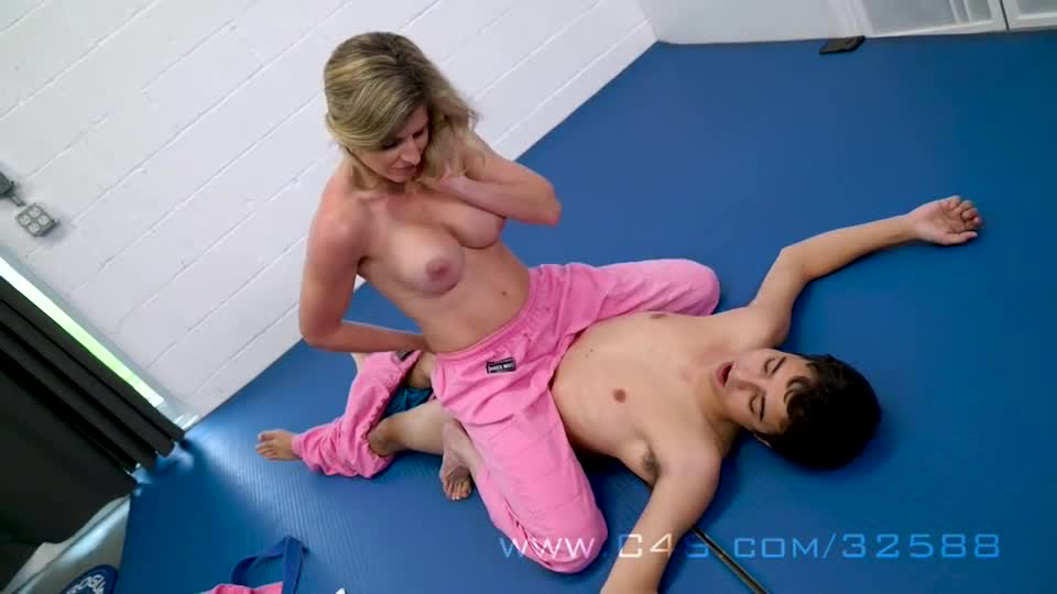 Rough Mixed Wrestling Fuck