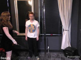 Porcelain Beauty - Dance for Mistress | bare bottom spanking | femdom porn