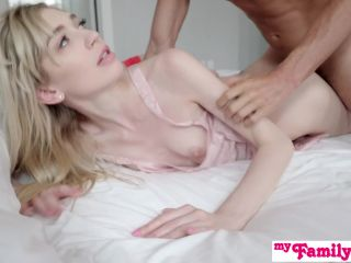 Kate Bloom Ask's her Step Siblings for Hot Threesome