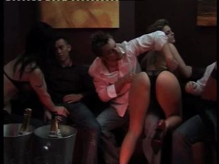 Angel Long - 9 Person Orgy