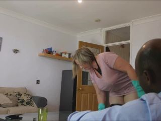 Porn online ManyVids presents b1ackwood – Wife fucks hubbys black boss