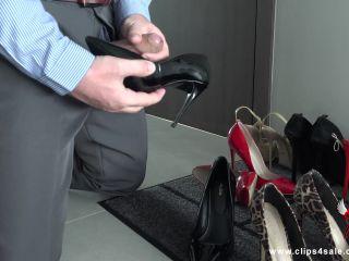Angel The Dreamgirl - Cumming In My Secretary's Shoe II , asian mistress femdom on hardcore