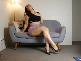 ManyVids presents BriannaBellxxx — Red Heels masturbation