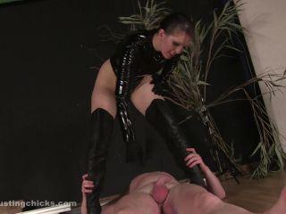 ballbustingchicks: female brutality!