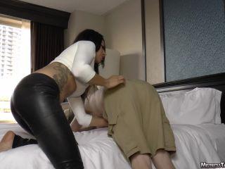 mistress tangent  paddle pal  spanking