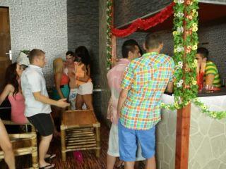 Bi Blowjob Orgy At A Hawaiian Themed Party 1 280 Melanie Crush, Amadea Emily, Eric Tomfor, An...