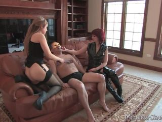 Mistress Missy, Mistress Sidney –  Virgin Ass – Pegging, Big Breast