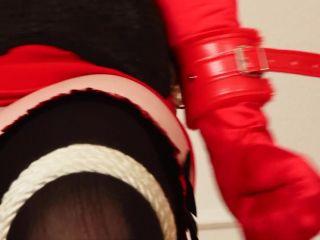 Bedroom bondage by lorelei - Office Slave in Hood and Ballgag has Bondage Orgasm - Lorelei - plus Extra Orgasm - HiDef