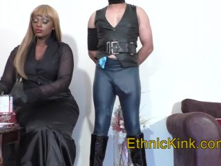 goddess sonya's clip store  mistress ava black  ava puts food in your pants  handjob domination