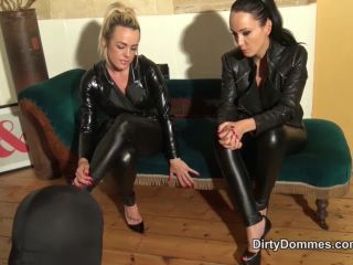 dirty dommes: testing our human furniture