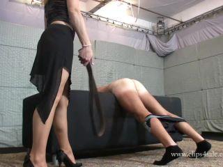 elegant femdom  lady ann belting  punishment