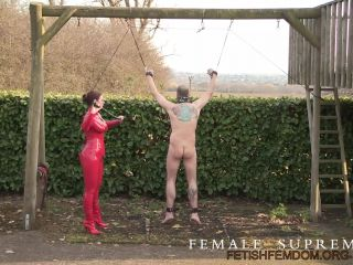 Porn online Female Supremacy – Low Hanging Fruit Part I. Starring Baroness Essex [Corporal Punishment, Gag, Suspension, Whipping, Whipped, Whip, Bullwhip] femdom
