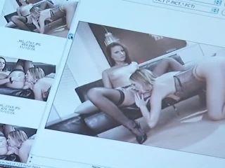 Girl Girl Studio #2, Scene 2  | stocking | femdom porn