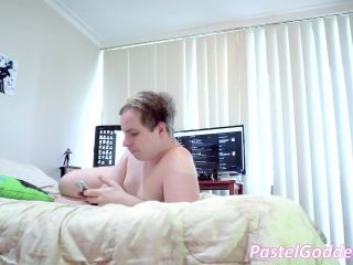 Total smothering and farts by huge bbw ass in black panties