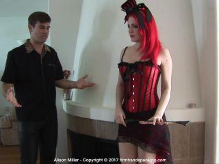 Firm Hand Spanking – Alison Miller – Costume Correction – B | fetish | femdom porn medical fetish porn