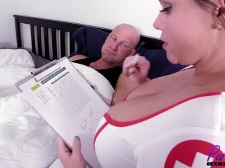 Nurse Betty Bang will cure what ails you[BBW Video]