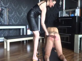 Lady Victoria Valente - Caning My New Slave!!!