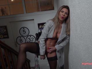 Highheel-Tamia - Erwischt - Bekomme ich jetzt die Kuendigung , amateur up on amateur porn