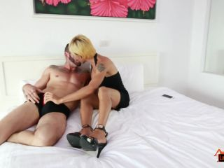 Thai Ladyboy Patty in anal action