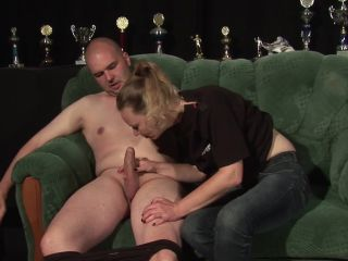 Mature with small tits gets her cunt licked and fucked
