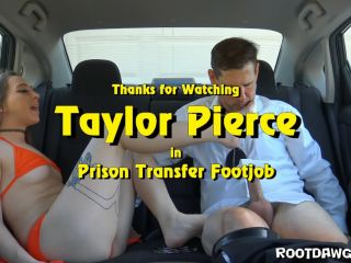 Porn online Foot Fetish by Rootdawg25 – Taylor Pierce in Prison Transfer Footjob