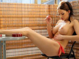 Smoking 7255-Topless smoking