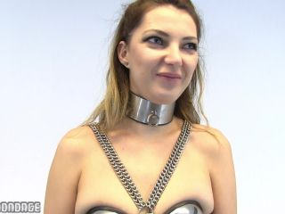 Metal Bondage And Chastity Belt - Video 555