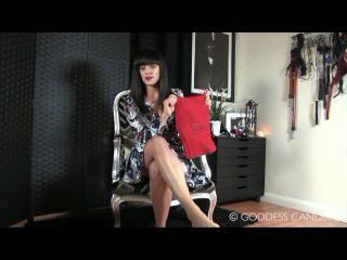 Porn online Goddess Candika - The Hunteress - Lick My Louboutins femdom