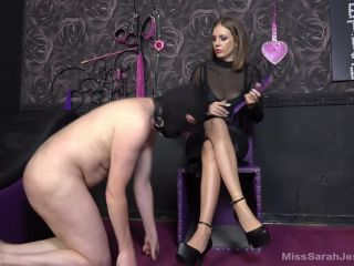Mistress Sarah Jessica Spanked For Being A Softie Spanking Submissive Slave Training Humiliation Legs High Heels K2S Cc Femdom Online Download  Slave