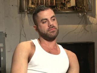 Pissed off janitor fucked in bondage by horny bathroom cruisers - cock worship - femdom porn deep anal fisting