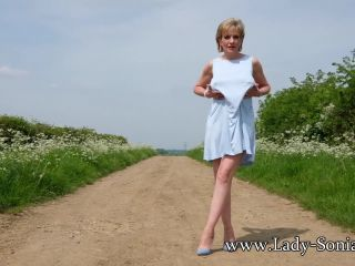 mature porn | Lady-Sonia presents Lady Sonia in Outdoors And Well Oiled | lady-sonia