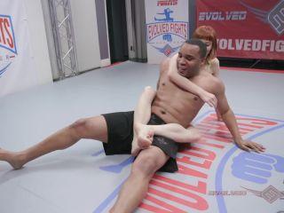 EvolvedFights – Alexa Nova vs Todd Jones – Mixed Wrestling