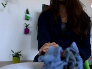 miss Eliska - Sock sniffing instructions | goddess feet | fetish porn plastic fetish