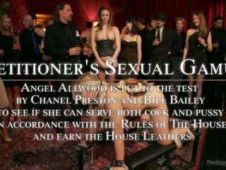 Anal Slave Broken in by Gorgeous Chanel Preston | rope bondage | big tits porn femdom slave husband