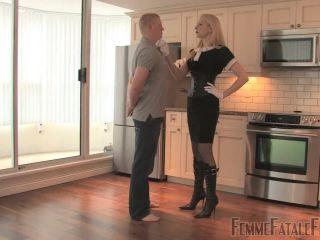 FemmeFataleFilms - Eleise de Lacy - House training - femmefatalefilms on femdom porn